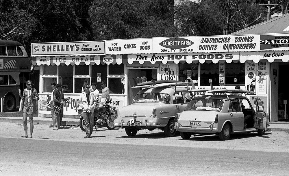 Palm Beach Kiosk, 1965