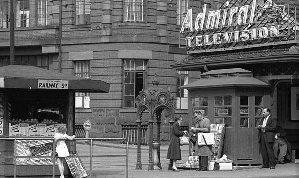 Railway Square on a Saturday, Sydney 1962