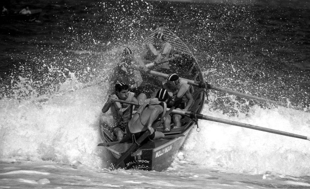 Surf Boat, South Coast, 1960
