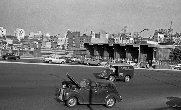 Sydney Harbour Bridge break down 1960s