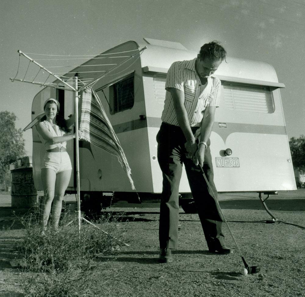 Sorlies' Couple, Broken Hill, 1959