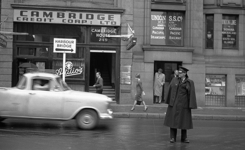 Sydney 1960s (Harbour Bridge street sign)