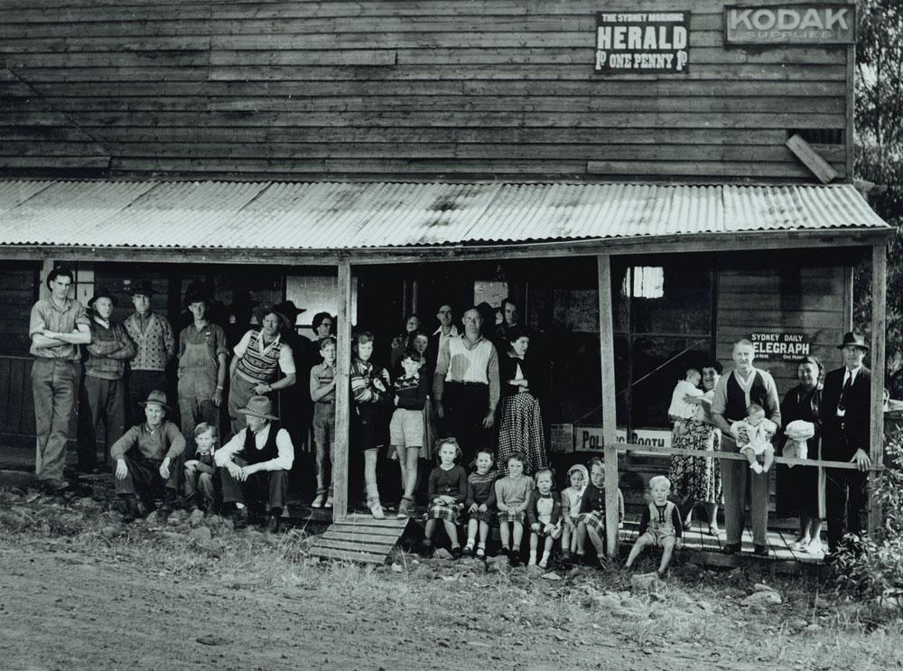 Curtain Call, Yerranderie, c1953