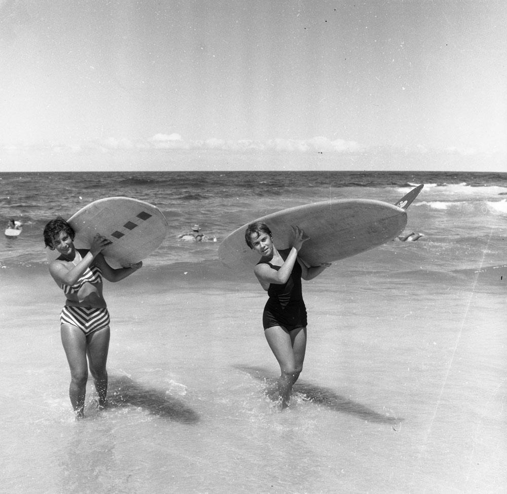 Women Surfers c. 1959