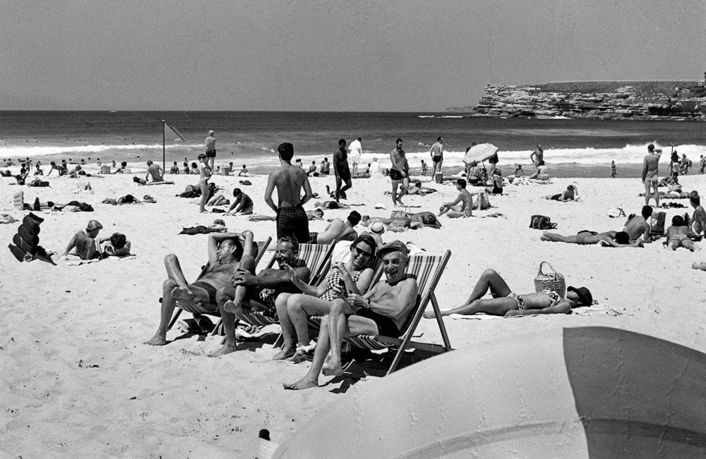 Saturday arvo, Bondi 1960s